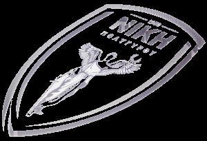 Νίκη metal logo cutout
